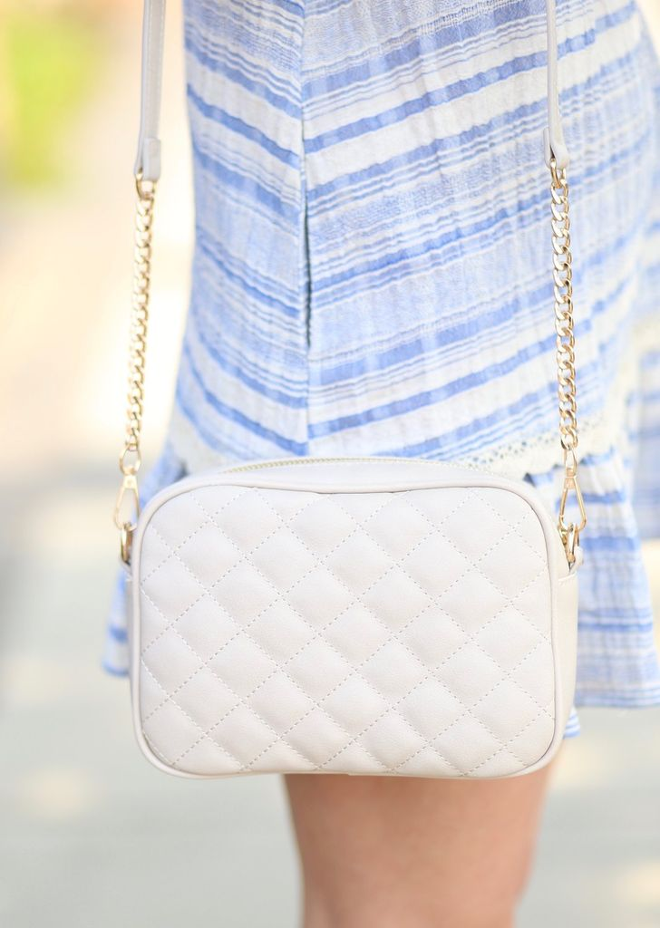 Caroline Hill Lawrence Quilted Crossbody
