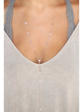 Caroline Hill Sky Of Diamonds Y Drop Necklace