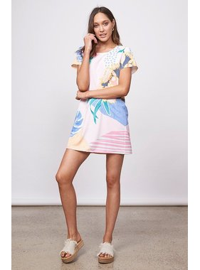 House Of Quirky Idea of Happiness Tee Dress