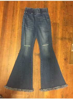 On Twelfth High Waist Flare Jean