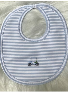 Kissy Kissy Mini Golf Stripe Bib by Kissy Kissy