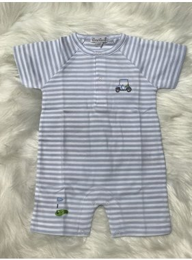 Kissy Kissy Mini Golf Stripe Short Playsuit by Kissy Kissy