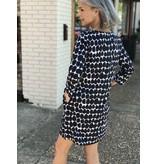 See Design Knit Dress Long Sleeve - BIg Smudge