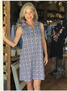 Lulu B Sleeveless Swing Dress by Lulu B
