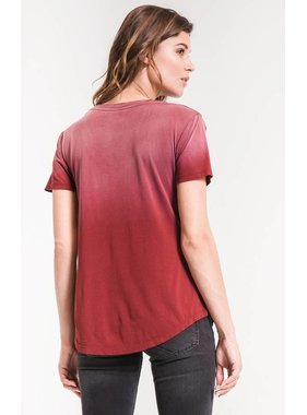 Z Supply The Ombre V Neck Tee