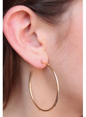 Caroline Hill So Hoopy Metal Hoop Earring