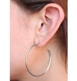 Caroline Hill So Hoopy Metal Hoop Earring