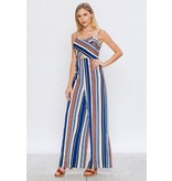 Flying Tomato Striped Jumpsuit