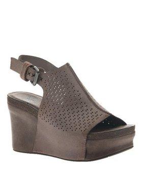 Consolidated Shoe Co. Jaunt Wedge OTBT, GreyPowder