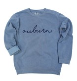 Kickoff Couture Rammer Jammer & Auburn scripted sweatshirt