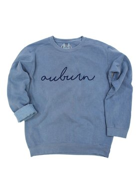 Rammer Jammer & Auburn scripted sweatshirt