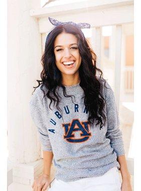 College town cozy pullover, Auburn, Al