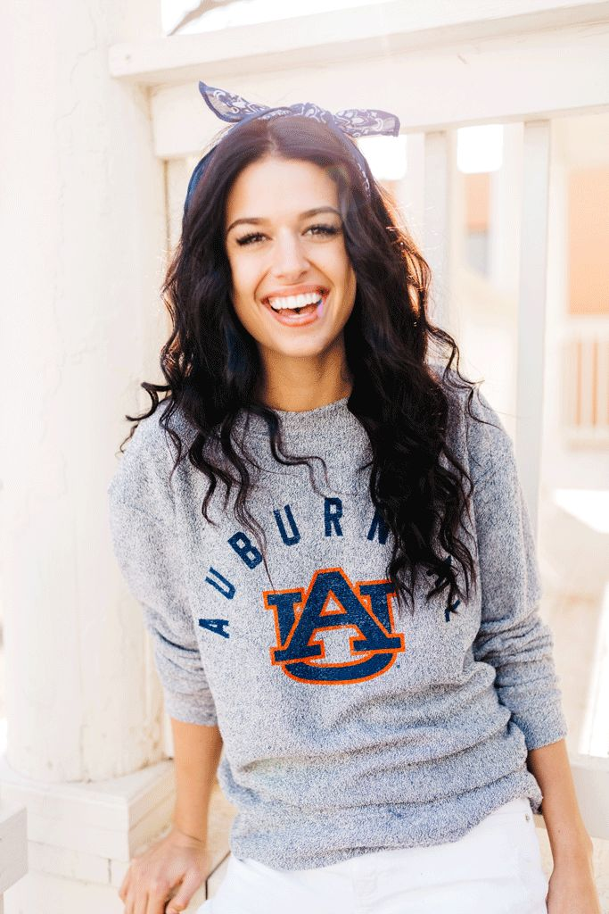 Kickoff Couture College town cozy pullover, Auburn, Al