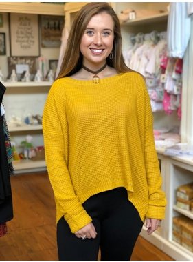 House Of Quirky Waffle Jumper