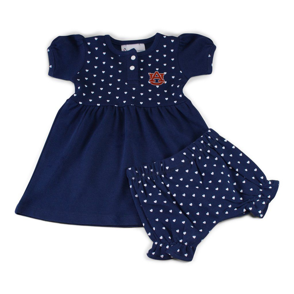 Two Feet Ahead Infant Heart Dress with Bloomers