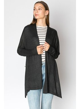 HYFVE Open Front Poncho Sweater Cardigan