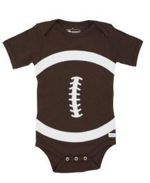 Ruffle Butts Football bodysuit