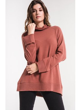 Z Supply Soft spun mock neck pullover