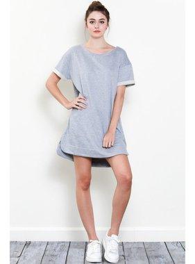 Wishlist, Inc. Rolled up sleeve dress