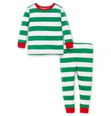 Little Me Striped 2 piece pajama set