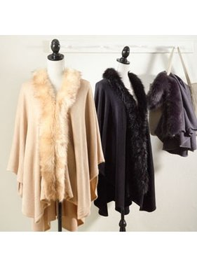 Saro Faux fur wrap