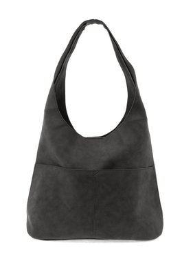 JOY Accessories Jenny sueded hobo handbag