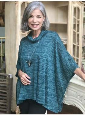 Soft works Poncho tunic