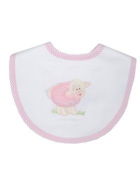 3 Marthas Bib with Little Lamb Applique by 3 Marthas'