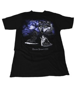 Reason Clothing Howling Wolf Tee