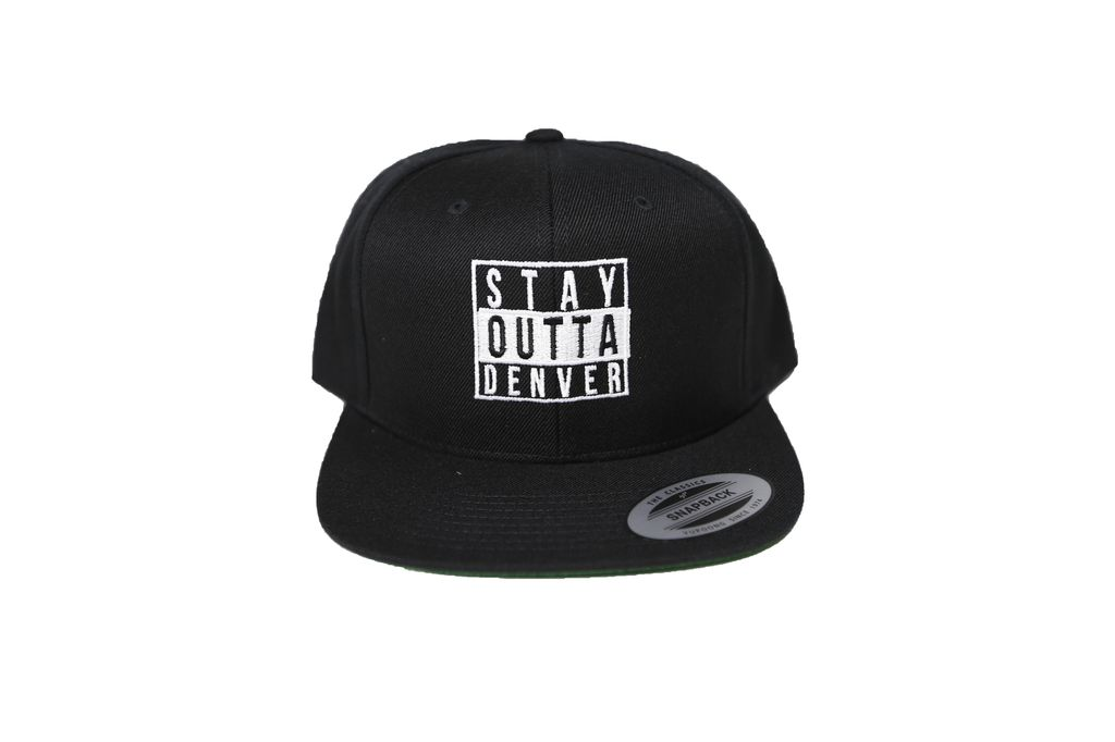 Abstract Stay Out Snapback