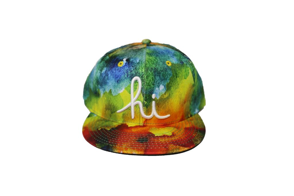 In4mation Watercolor Snapback