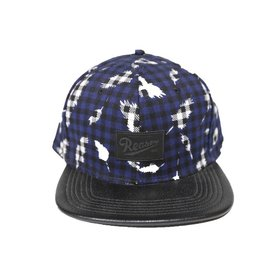 Reason Clothing Feather Plaid Snapback