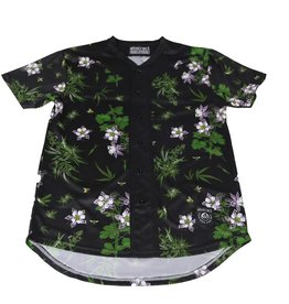 Abstract Wildflowers Baseball Jersey