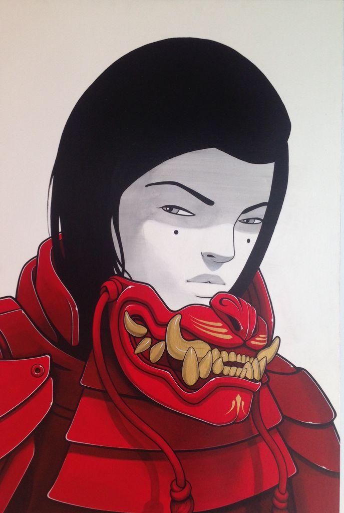 Abstract Casey Kawaguchi #17
