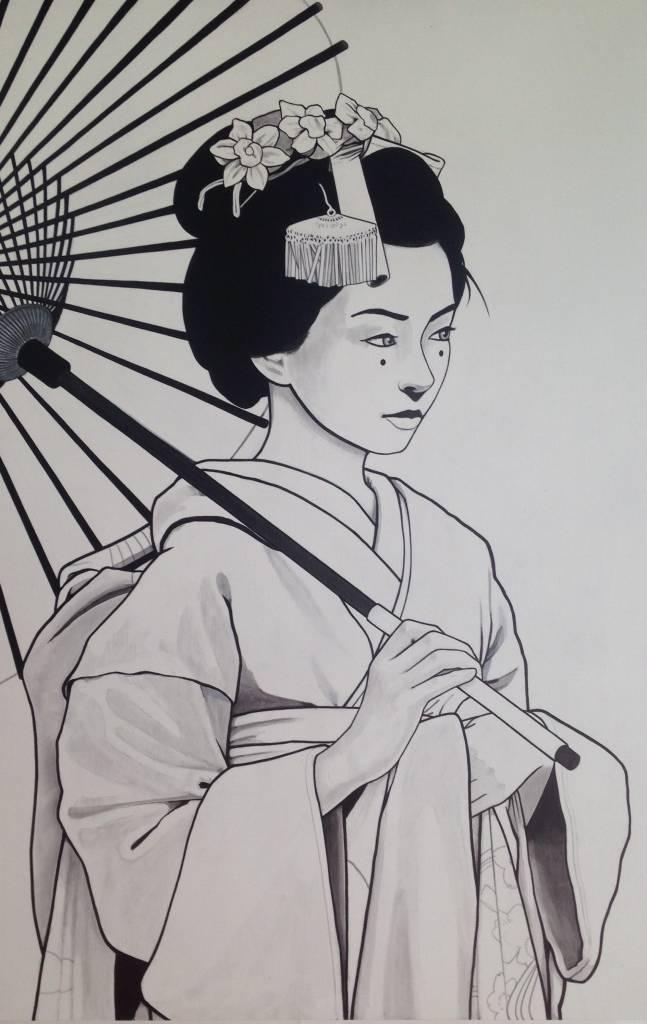 Abstract Casey Kawaguchi #15