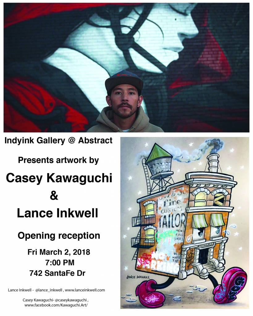 March 2018 - Lance Inkwell, Casey Kawaguchi