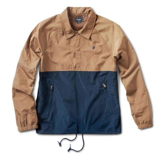 Primitive Camel Coaches Jacket