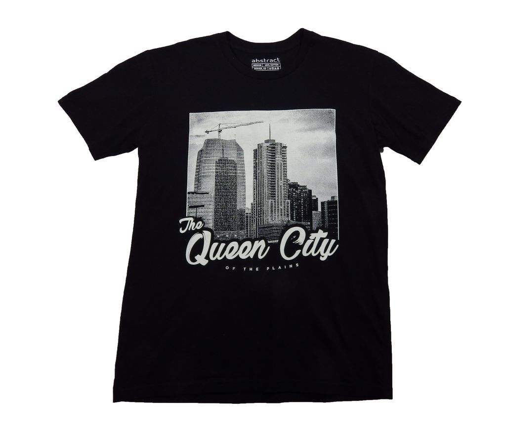 Abstract Queen City Tee