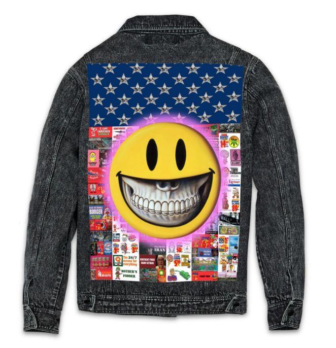 Reason Propaganda Denim Jacket