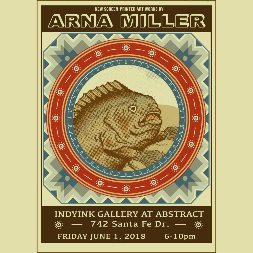 *Future show* June 1st - Arna Miller, Ravi Zupa