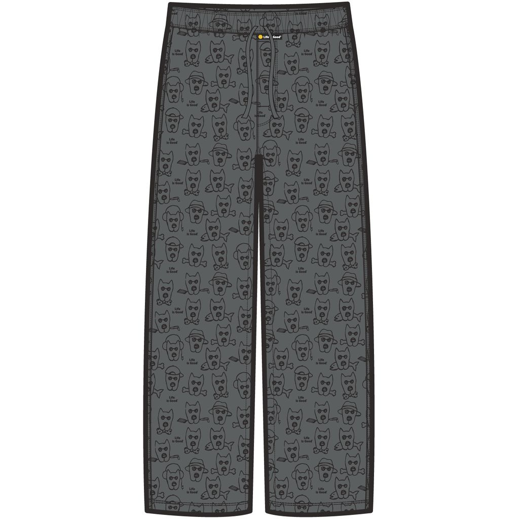 Life is Good Men's Classic Sleep Pant Dog