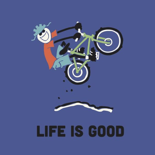 Life is Good Boys Crusher Tee, LIG Bike