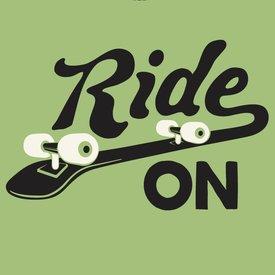 Life is Good Boys Crusher Tee, Ride On Skateboard