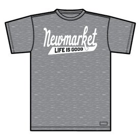 Life is Good Men's Crusher Tee, Newmarket LIG