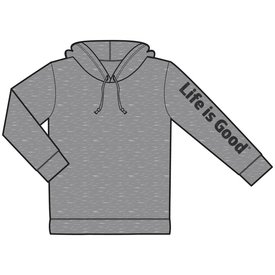 Life is Good Men's Go To Hoodie, Life is Good