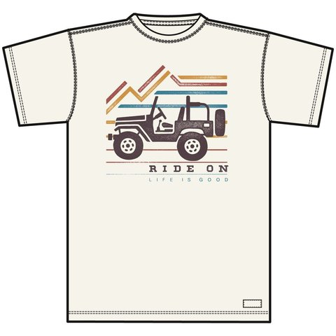 Men's Crusher Tee, Ride On Jeep