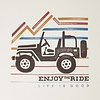 Men's Crusher Tee Ride On Jeep