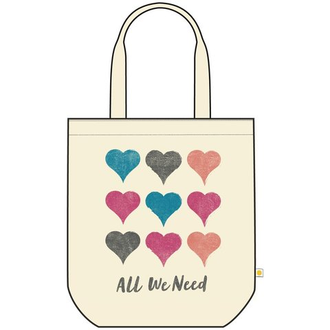 Canvas Messaging Tote, All We Need