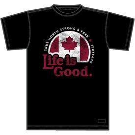 Men's Crusher Tee, LIG Canada True North