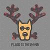 Men's Crusher L/S Tee Plaid to the Bone Dog